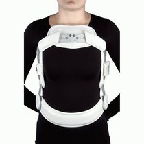 Posture-correcting orthosis / vertebral hyperextention / with 3-point base system