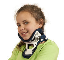 Miami cervical collar / with tracheostomy opening / C4 / pediatric