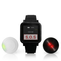 Wrist alert system / fall / with geolocalization