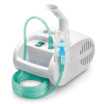 Electronic nebulizer / with compressor