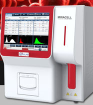 3-part differentiation hematology analyzer / 24-parameter / automatic / bench-top