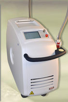 Hair removal laser / varicose vein treatment / Nd:YAG / trolley-mounted