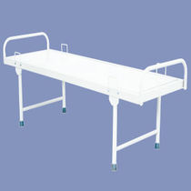 Hospital bed / manual / fixed-height / 1-section
