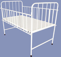 Hospital bed / manual / fixed-height / pediatric