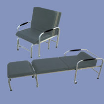 Waiting room chair / with armrests / reclining
