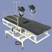 Hydraulic delivery table / on casters