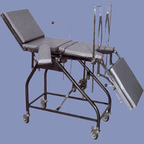 Gynecological operating table / manual / on casters / Trendelenburg