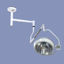 Ceiling-mounted surgical light / halogen
