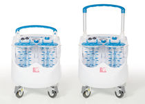 Electric surgical suction pump / on casters