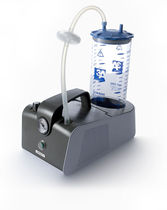 Electric surgical suction pump / for drainage / portable