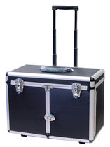 Suitcase with trolley / metal