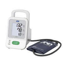Automatic blood pressure monitor / arm / with rechargeable battery / oscillometric