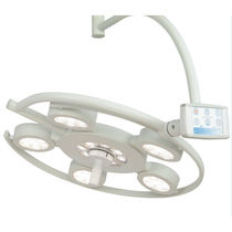 LED surgical light / ceiling-mounted