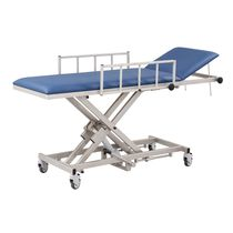Transport stretcher trolley / hydraulic / height-adjustable / non-magnetic