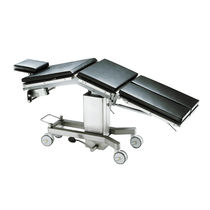 Universal operating table / hydraulic / height-adjustable / on casters