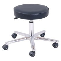 Surgical stool / height-adjustable / swivel / on casters