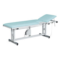 Echocardiography examination table / height-adjustable / 2 sections