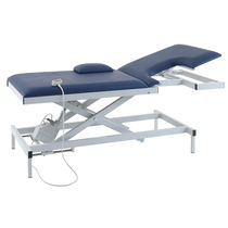 Echocardiography examination table / electric / height-adjustable / 2 sections
