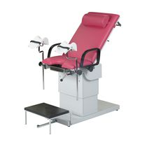 Gynecological examination chair / pneumatic / 2 sections