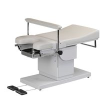 Proctology examination chair / electropneumatic / height-adjustable / 2-section