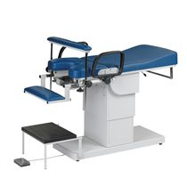 Proctology examination chair / electropneumatic / height-adjustable / with adjustable backrest