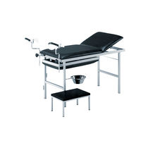 Gynecology examination table / fixed-height / 3-section