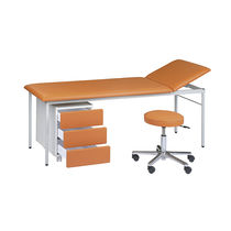Fixed-height examination table / 2-section