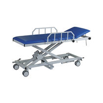 Transport stretcher trolley / emergency / patient transfer / hydraulic