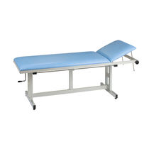 Manual examination table / fixed-height / height-adjustable / 2-section