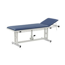 Hydraulic examination table / fixed-height / height-adjustable / 2-section