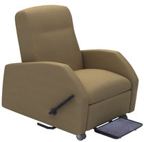 Reclining patient chair / on casters / bariatric / manual