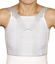 Thoracic support belt / adult / with suspenders
