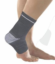 Ankle sleeve / with para-achilles pad / with malleolar pad