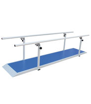 Adult rehabilitation parallel bars / with base / height-adjustable