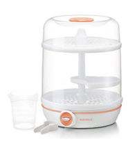 Electric baby bottle sterilizer / with dryer