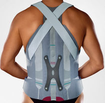 Thoraco-lumbar support belt / adult / with suspenders
