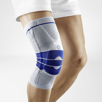 Knee sleeve / with patellar pad / with flexible stays