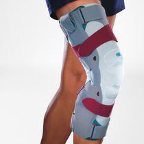 Knee orthosis / knee distraction (osteoarthritis) / patella stabilization / articulated