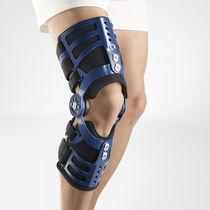 Knee splint / articulated