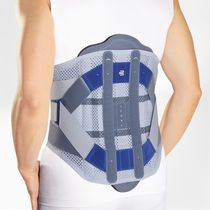 Thoraco-lumbo-sacral support belt / adult / rigid