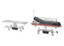 Emergency stretcher trolley / patient transfer / manual / for intensive care