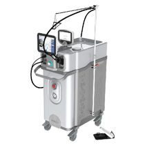 Hair removal laser / pigmented lesion treatment / alexandrite / trolley-mounted