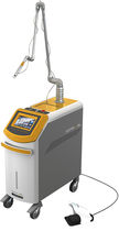 Pigmented lesion treatment laser / scar removal / CO2 / trolley-mounted