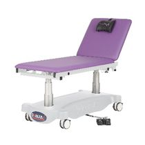 Electric examination table / height-adjustable / Trendelenburg / 2 sections