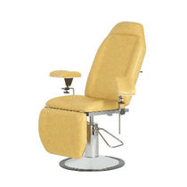 Hydraulic blood donor chair / 3-section / Trendelenburg / height-adjustable