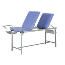 Gynecological examination table / fixed-height / 3 sections