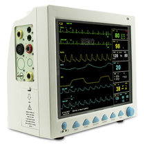 Multi-parameter transport monitor / ECG / TEMP / EtCO2