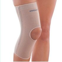 Knee sleeve / with flexible stays / open knee