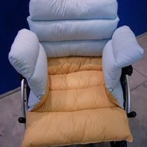 Protection cushion / support / for wheelchairs / anti-decubitus