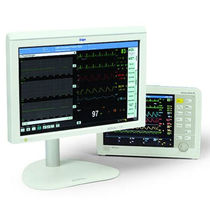 Multi-parameter transport monitor / modular / with touchscreen / with patient data management system
